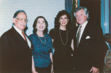 Senator Kennedy with wife and friends