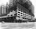 Statler Hotel under construction