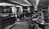 Diners in the coffee shop of the Biltmore Hotel
