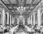Interior of the dining room of the Biltmore Hotel