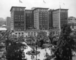 Pershing Square and the Biltmore Hotel