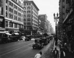Another view of busy Broadway in the 1920s