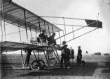 Parmenter and Paulhan in Farman plane