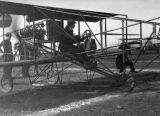 Glenn Curtiss at take-off
