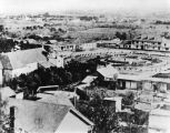 Los Angeles Plaza in 1873