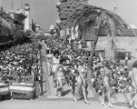 Bathing beauty parade, Venice Mardi Gras