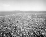 Aerial view of Venice and Culver City