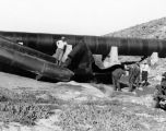 Inspection of California Aqueduct pipe