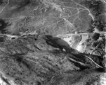 Aerial view of Devil's Gate Dam