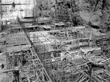 Powerhouse substructure of Hoover Dam