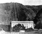 Power plant at St. Francis Dam