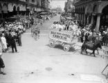 Juvenile circus on parade in Venice