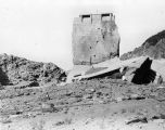 Remainder of failed St. Francis Dam