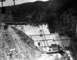 Pine Canyon Reservoir construction