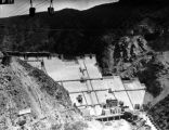 Construction of Pine Canyon Dam