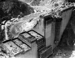 Pine Canyon Dam construction