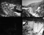 Views of Tujunga Dam under construction