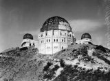 Griffith Observatory construction