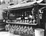 One of the stalls on Olvera Street