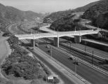 Cahuenga Pass and Mulhulland Highway Bridge