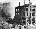 Los Angeles Times Building after bombing