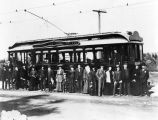 Early Pacific Electric car