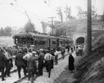 Pacific Electric tunnel opening