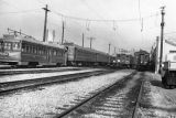 Pacific Electric cars at rest