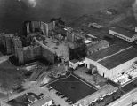 Robin Hood set, aerial view