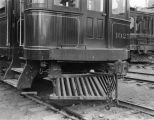 Close up of Pacific Electric car