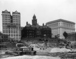 Los Angeles City Hall construction