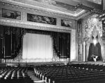 Title curtains, Pantages Theatre