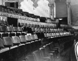 Rows of seats, Warner Bros. Theatre