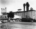 Ambassador Hotel and marquee