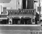 Marquee, United Artists Theater