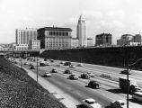 Hollywood Freeway at Grand Avenue