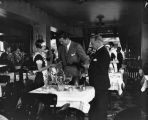 Jack Dempsey at his restaurant
