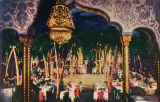 Postcard of interior, Cocoanut Grove nightclub