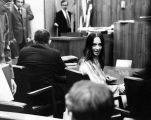 Susan Atkins in Santa Monica court