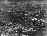 Movie studios in 1922, aerial view