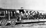First trolley in Los Angeles