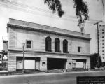 Before completion, Vine Street Theater