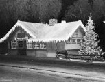 Sierra Madre P-E station at Christmas