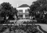 Residence of Richard B. Fudger, garden view