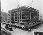 Loew's State Theatre construction site