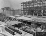Loew's State Theatre construction area