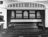 Stage and organ, Trinity Auditorium