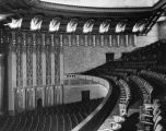 Interior view of the Wiltern Theater