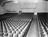 Interior seating in Mesa Theater