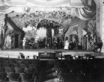 Cast on stage of Majestic Theater